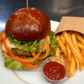 Бургер вегетеріанський