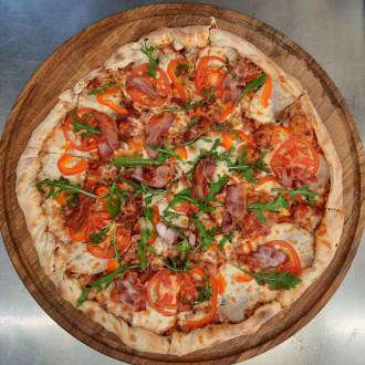 Піца зі свининою 30 см
