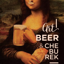 Art beer & cheburek