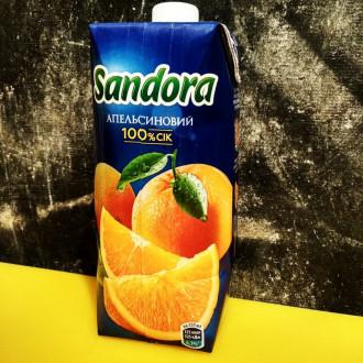 Сік Sandora апельсиновий
