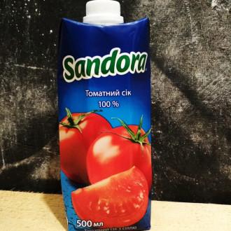 Сік Sandora томатний