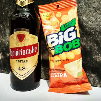 Пиво Чернігівське світле 17 грн.