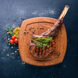 Стейк із свинини (на кістці або шия)
