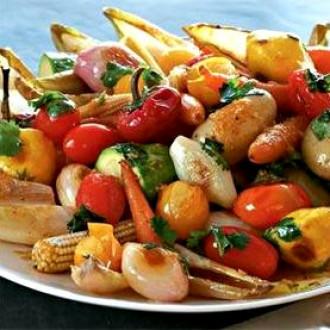 Овочі міні з вершковим маслом